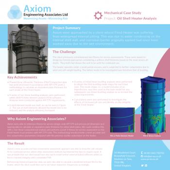 Oil Shell Heater Analysis